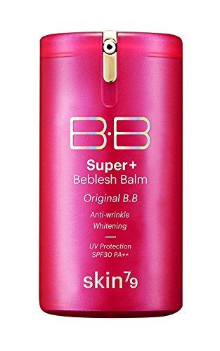 [Skin79] Hot Pink Super Plus Beblesh Balm Triple Functions Pump 40g Bb Cream B.b by Skin79