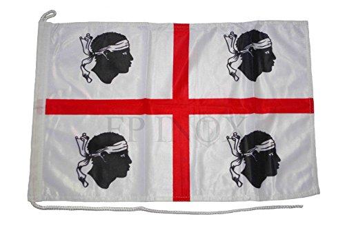 Pavillon Sardaigne (Flagge) 45 x 29 cm