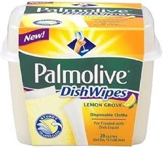 Colgate Palmolive #50076 20CT Lemon Dish Wipes