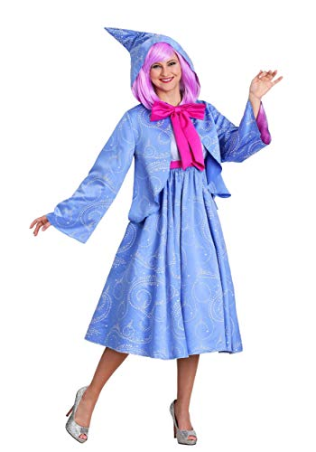 Plus Size Fairy Godmother Costume Adult Cinderella Cosplay Costumes for Women 2X