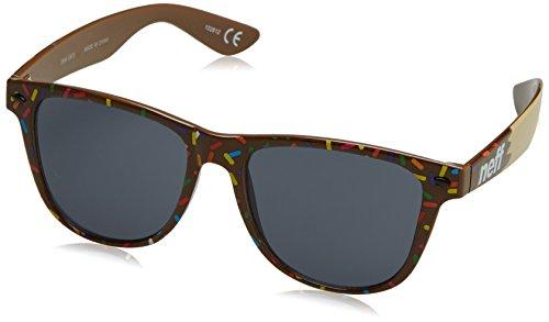 Neff QNF0302 Gafas de sol, Chocolate Donut, 55 Unisex