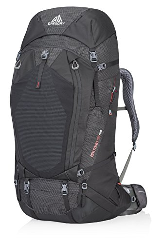 Gregory Mountain Products Men's Baltoro Pro 95 Liter Backpack, Volcanic Black, Medium