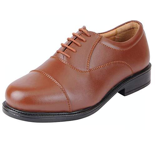 BATA Men's Fromal Lace-up Shoe (8UK/India (42EU), Tan)