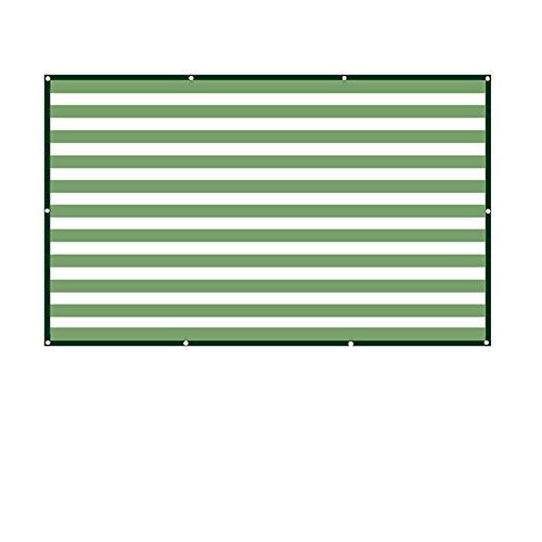 Sunblock 88% Carré couverture d'ombre de soleil UV bloquant la couverture extérieure d'auvent de jardin de pelouse de patio Taille facultative (taille : 6×3M)