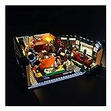 CDXZRZYH LED LED Light Kit para Lego Ideas Amigos Central Perk Cafe, Kit de iluminación para Lego 21319 (NO Incluye EL Modelo DE Lego)