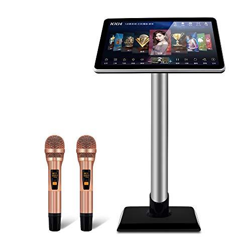 KKH Mic Reverberation Karaoke Point Song KTV System 19.5-inch mic Reverberation Karaoke (3TB Hard Disk has Built-in About 60,000 Songs, 19.5-inch mic Reverberation Karaoke)