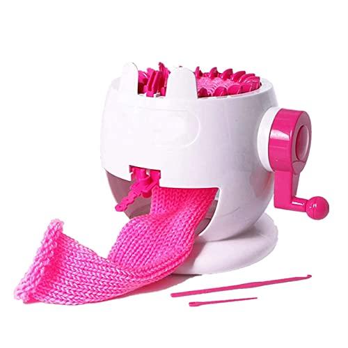 HAPPY-HAT Máquina De Tejer, 22 Agujas Tejer Inteligente Telar Máquina De Tejer para Niños, Ligero Y Duradero Herramientas para Tejer - Usado para Tejer Bufanda Gorro Calcetines