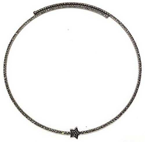 LIZAS Halskette Star hematit-Black Diamond