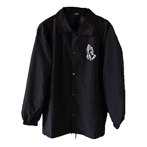Pray Coach Jacket (X-Large) Black