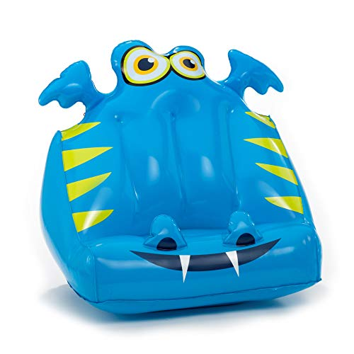 Bookmonster Air Inflatable Book Stand Support Kids Reading Rest iPad Tablet eReader Kindle Smartphone Lap Holder Gift Travel Beach Holiday - Darlie The Dragon