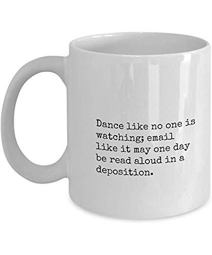Koffiemok, grappig juridisch advies koffiemok - advocaat, advocatenkantoor nieuwigheid koffiebeker