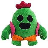 Betory Nuevo Peluche Cactus Feo,Anime Game Cactus Spike muñecos Peluche,Planta Dibujos Animados Spike Juguetes Peluche Adornos Creativos,Peluche Cactus 20Cm,Niños Cumpleaños Navidad Regalos Halloween