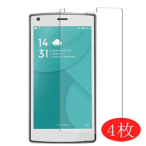 【4 Pack】 Synvy Screen Protector for Doogee X5 Max pro 0.14mm TPU Flexible HD Clear Case-Friendly Film Protective Protectors [Not Tempered Glass] New Version