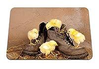 26cmx21cm マウスパッド (登山靴) パターンカスタムの マウスパッド