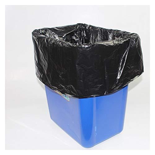 LDH 100PCS Negro Grandes Bolsas De Basura, Espesar Y Aumentar La Bolsa De Basura De Plástico Desechable Bolsa De Propiedades De Limpieza del Jardín De Almacén Bolsas De Basura (Size : 100 * 110cm)
