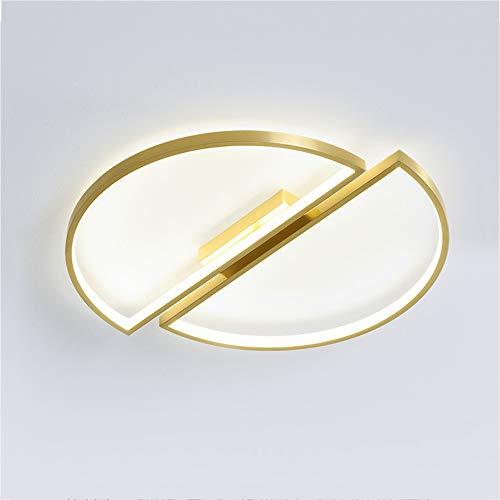 Moderno LED Luz de techo Ultradelgado Plafón Dormitorio Iluminación Regulable Interruptor de...