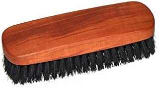 Práctico cepillo de ropa de madera de pera aceitada, con