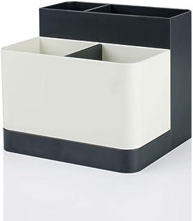 B/H Boîte de Rangement,Boîte de Rangement en Plastique de ménage Boîte de Rangement de tri de fouillis de Bureau - Gris