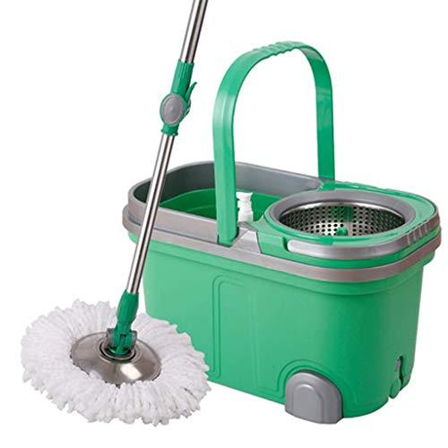 Magic Mop Mop Bucket Lazy Mop Spinning Mop Bucket Manos Libres Hogar húmedo y seco
