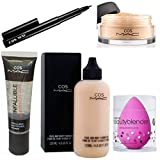 Infallible Base Primer (35 ml) sooft and smooth skin Face and Body Foundation 120 ml,Liquid foundation with Good coverage,Luxurious, effortless glide Mineralize loose powder foundation spf 15 light plus,It gives translucent, silky and light in weight...
