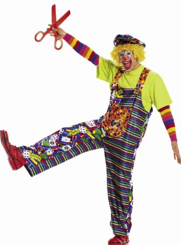 Burda 2453 Schnittmuster Kostüm Fasching Karneval Clown (Damen, Gr. 40-60) – Level 1 Super Easy