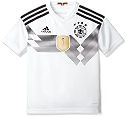 adidas Kinder Dfb Heim Replica Trikot, Weiß (White/Black), 164
