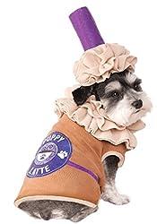 Puppy Latte Iced Coffee Pet Costume