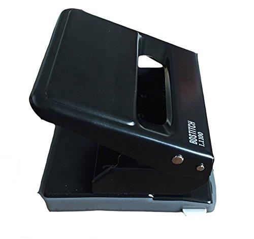 1x BOSTITCH G7200Perforatrice Perforatrice de bureau métal 30feuilles Noir