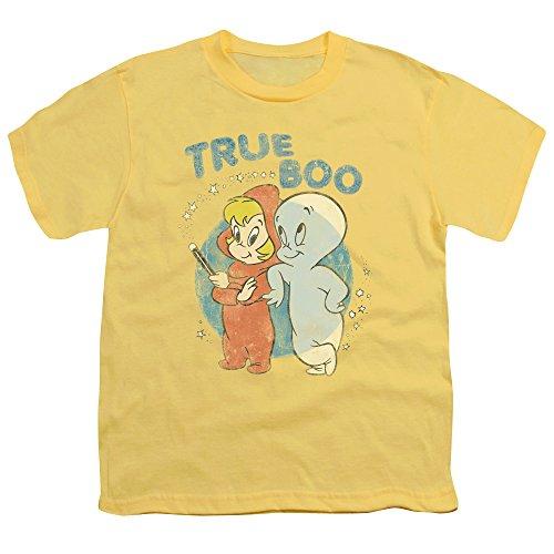 Casper - - True jeunesse Boo T-shirt, Large, Banana