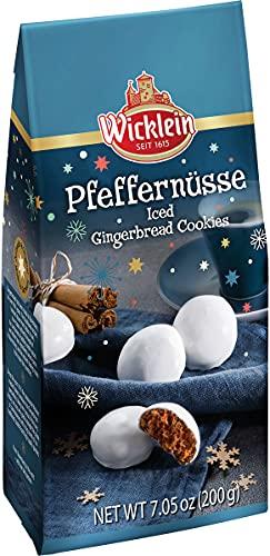 Wicklein Pfeffernusse Iced Gingerbread Cookie Bag, 7.05 oz