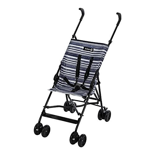 Safety 1st Peps Buggy, Wendiger Kinderwagen Nutzbar ab 6 Monate Bis max. 15 kg, Kompakt Zusammenfaltbar, Mit Feststellbremse und 5-Punkt-Gurt, Leichtgewicht mit Nur 4,5 kg, Blue Line (blau)