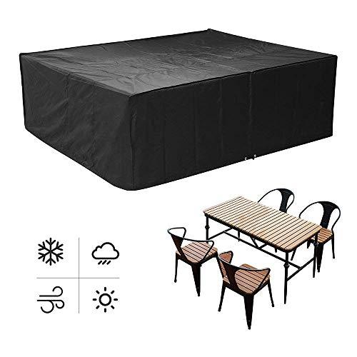MVPOWER Abdeckung für Gartenmöbel und für Rechtecksitze, Gartentische und Möbelsets (250 * 200 * 80cm)