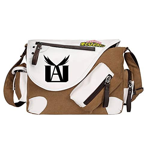 SHU-B Anime Messenger Bag Handbag Crossbody Tote Bag Student Bag Bolsa de Hombro para My Hero Academia Cosplay