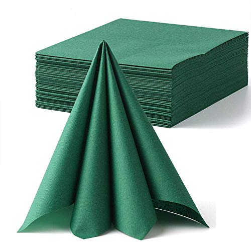 Lekoch Green Napkins Disposable Clo…