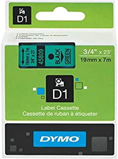 DYMO D1 Standard Labels 19mm suitable for DYMO LabelManager and DYMO LabelWriter Duo