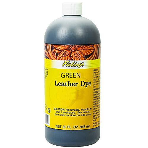 Fiebing - Tintura per pelle, 30 ml, colore: Verde