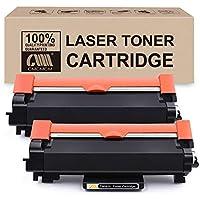 CMCMCMCM 2PK Cartucho de tóner Compatible para Brother TN-2420 TN 2420, Compatible con Brother MFC-L2710DW HL-L2350DW DCP-L2530DW HL-L2370DN HL-L2375DW DCP-L2510D MFC-L2710DN MFC-L2730DW HL-L2310D