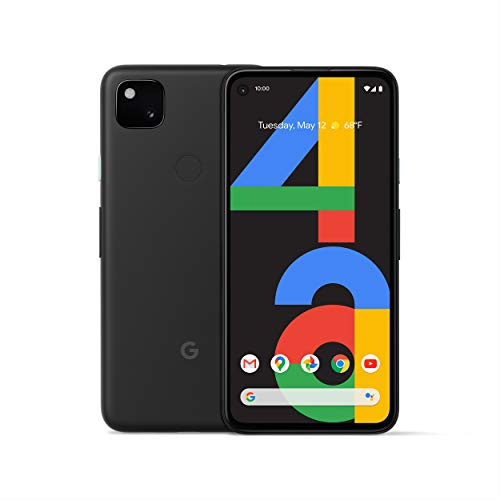 Google Pixel 4a - New Unlocked Android Smartphone - 128 GB of Storage - Up to 24 Hour Battery - Just Black