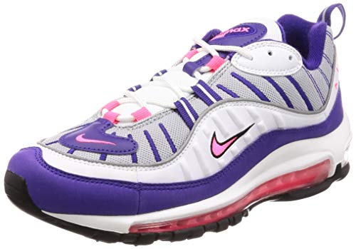 Nike Air Max 98 Women's Shoes White/Racer Pink ah6799-110