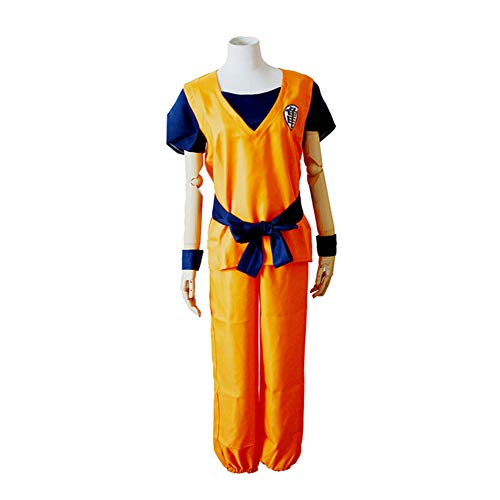 PAOFU-Anime Dragon Ball Z Goku Cosplay Kostuum Halloween Film Carnaval Mooie Jurk Anime Fan Volwassen Uniform Set,A,L