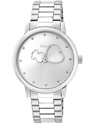 Tous Reloj Bear Time de Acero (34mm) (Bear Time de Acero Ref:900350305)