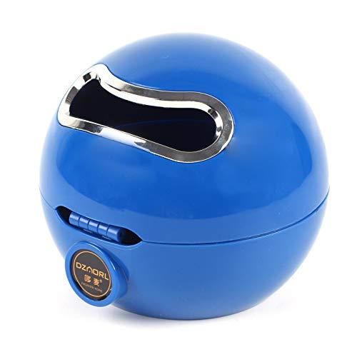 BALLSHOP Emoji Kugel Toilettenpapierhalter Klorollenhalter Klopapierhalter Rollenhalter WC (Blau)
