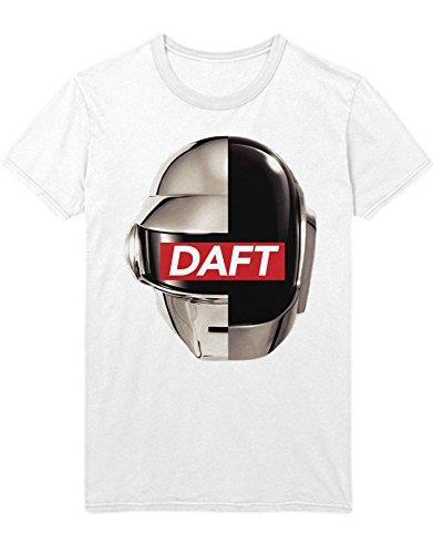 T-Shirt Daft B385915 Weiß M