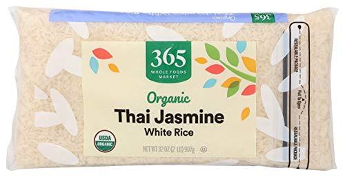 365 by Whole Foods Market Organic Long Grain Rice White Thai Jasmine 32 Ounce