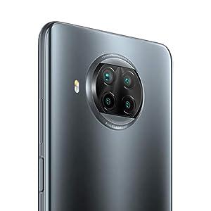 """Xiaomi Mi 10T Lite 5G - Smartphone 6+64GB, 6,67"""" FHD+ DotDisplay, Snapdragon 750G, Cámara cuádruple de 64 MP con IA, 4820 mAh, Gris Perla (Versión oficial),con Alexa Hands-Free"""