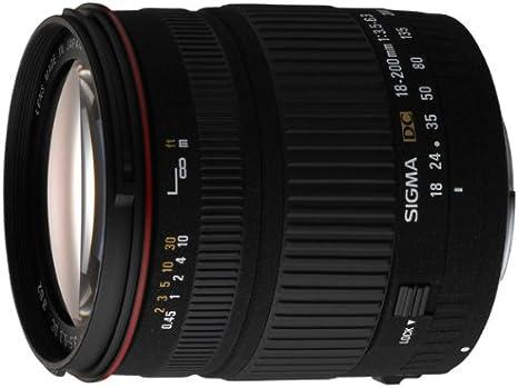 Sigma 18 200mm F3 5 6 3 Dc Objektiv Für Canon Kamera