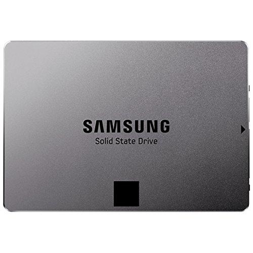Samsung MZ-7TE120BW Serie 840 EVO Basic interne-SSD-Festplatte (6,4 cm (2,5 Zoll) (120GB, 256MB Cache, SATA III,) silber metallic