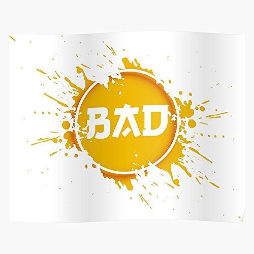 Fun Blob Crush Bad Splat Plop Orange Pop El póster de decoración de interiores más impresionante y elegante disponible en tendencia ahora