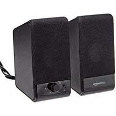 USB-powered (5V) speakers plug directly into your computer for portable convenience Turn the speakers on and adjust the volume using one simple control (located on the front of the speakers); volume control includes On/Standby Simple plug-and-play se...