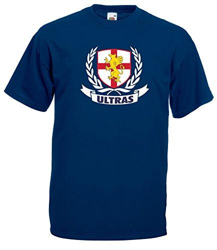 Settantallora - T-Shirt Maglietta J1481 Genoa Calcio Taglia XL